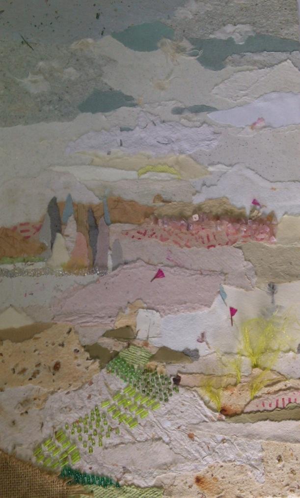 Las piedras semipreciosas han buscado otro compañero: el papel artesanal