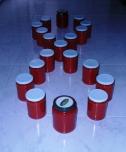 Botes de salsa de tomates
