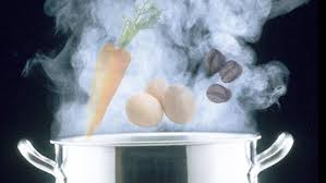 sanahoria, huevo cafe